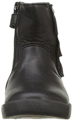 Minibel Laury, Bottes Classiques Fille Noir (67 Noir/Paillet Noir)