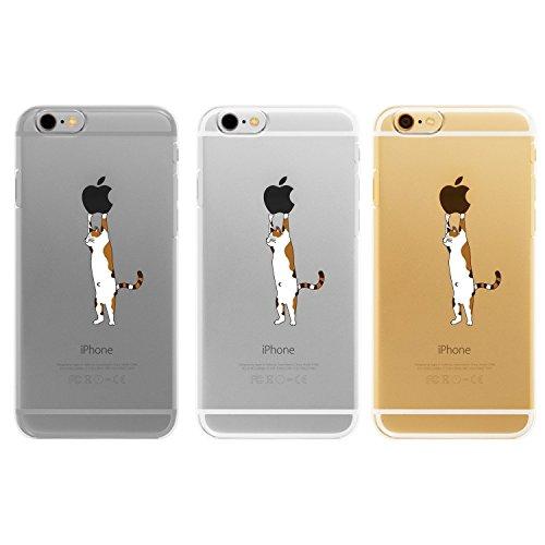 "iPhone 6S / 6 Hülle, Vanki® TPU Weiche Silikon Transparent mit Donuts Katze Taube Note Muster Schutzhülle Ultradünnen Anti-stoß Kratzfeste Bumper Case für iPhone 6/6S (4,7 Zoll) (iphone 6/6s 4,7"", 3) 3"