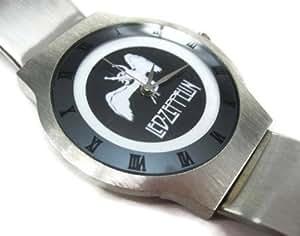 Montres bracelet Stainess Steel Hommes WSS244 Ultra Slim Stainless Steel Wrist Watch / Led Zeppelin