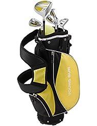 Young Gun ZAAP ACE Junior Kids Right Hand Golf Clubs Set + BAG