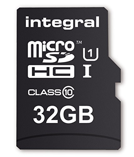 Integral Micro SD Card 32GB with SD Adapter Class 10 lowest price