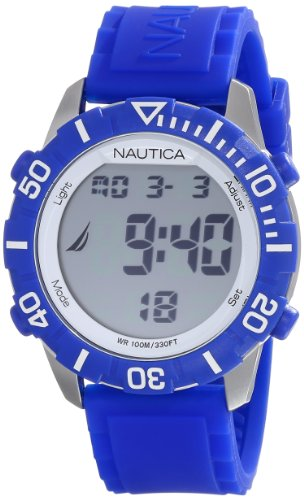 Nautica Unisex N09932G NSR 100 Fashion Digital Watch