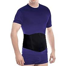 Vendaje de hernia umbilical- banda de circunferencia-fascia abdominal -soporte de hernia umbilical