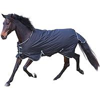 Kerbl coperta per cavalli RugBe coperta invernale 200, 155cm, nera, 326130