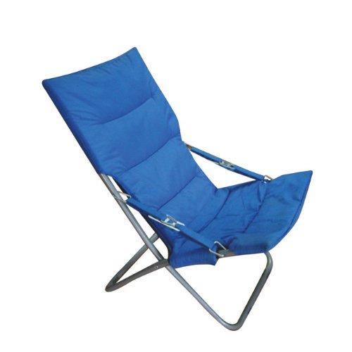Papillon – Fauteuil de Plage/Camping matelassé Bleu (réf. 8043505)