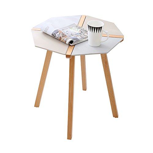 GLJ Nordic Minimalist Table Personality Negotiate Small Round Table Office Reception Table Mosaic Color Creative Small Coffee Table Folding table