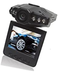 SODIAL(R) 2.5 Pulgadas Camara de Video / Registrador / Videocamara de Coche HD LED IR Vehiculo DVR - LCD 270 Grados Gira