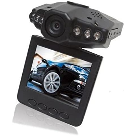 SODIAL(R) 2.5 Pulgadas Camara de Video / Registrador / Videocamara de Coche HD LED IR Vehiculo DVR - LCD 270 Grados