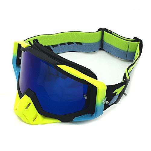 Yiph-Sunglass Sonnenbrillen Mode Ski Snowboardbrillen UV-Schutz Anti-Fog-Schneebrille Windwiderstand für Männer, Frauen (Color : 1, Size : One Size)