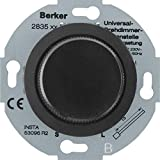 Berker Universal-Drehdimmer sw 283511 Nebenstelle m.Softr. GLASSERIE;PALAZZO;SERIE 1930 Dimmer 4011334282723