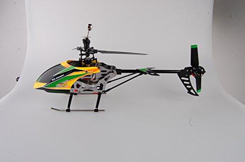 Helicóptero radiocontrol teledirigido de sola cuchilla RC grande con el RTF del girocompás