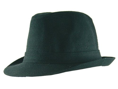 Clubstyle Chapeau Party hat Trilby City hat noir 014