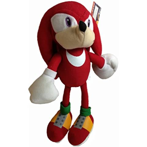 S SONIC SHADOW TAILS KNUCKLES Sonic The Hedgehog SOFT TOY 14 inch 35cm AQ plush