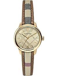Ladies Burberry Classic redondo reloj bu10114