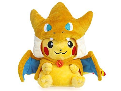 Kostüm Pikachu Pokemon - Pokemon Pikachu Pikazard Kuscheltier