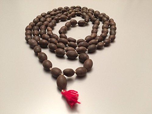 Lotus Samen Kamal Gatta Japa Mala 108+ 1Rosenkranz Perlen Hindu Yoga Meditation Subha