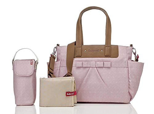 Babymel Wickeltasche Cara Bloom Dusty Pink BM2207