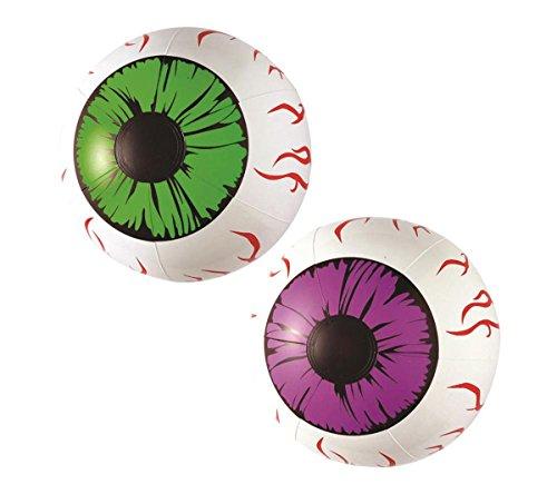 Aufblasbare Augen Horror Blow Up Beach Ball VOLLEY Scary Prop Party Dekoration