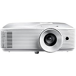 "Optoma HD27e - Proyector (3400 lúmenes ANSI, DLP, 1080p (1920x1080), 25000:1, 16:9, 711,2 - 7645,4 mm (28 - 301""))"
