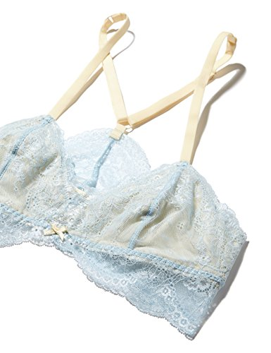 Iris & Lilly Bralette in Pizzo Forget-Me-Not Donna Multicolore (Blue/peach)