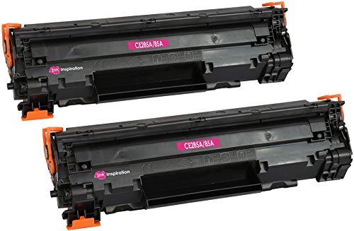2 INK INSPIRATION Premium Toner kompatibel für HP CE285A 85A Laserjet Pro P1102 P1102w P1100 M1130 M1210 M1212nf M1213nf M1217nfw M1132 M1134 M1136 | 1.600 Seiten