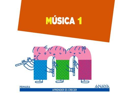 Música 1. (Aprender es crecer) - 9788467845747 por Alfonso Cifuentes Padrino