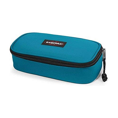 Eastpak oval xl single astuccio, 22 cm, blu (novel blue)