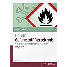 Hörath Gefahrstoff-Verzeichnis: Gesetzlich vorgeschrieben gemäß § 6 GefStoffV