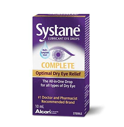 SYSTANE COMPLETE, alivia hidrata y ayuda a restaurar la pelicula lagrimal, 10ml