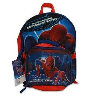 Mochila de Spiderman (W/Bolsa para el Almuerzo 16«