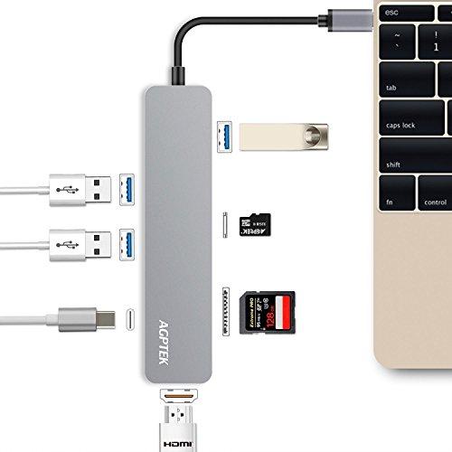 AGPTEK 7 En 1 Hub USB C