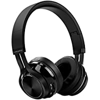 Bluetooth Over Ear Wireless Headphones - LinkWitz Portable Headsets with HiFi Stereo, Lightweight With Soft Pads, Built-in Mic for iPhone, Samsung, Android Phones & Tablets, PC and More