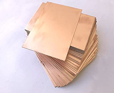 IncredibleRetail 2 Unit 6 x 4 inch size DOUBLE Sided Glass Epoxy FR4 Grade Copper Clad PCB