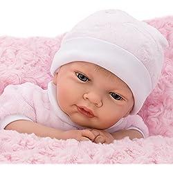 Nines Artesanals d'Onil Poupée reborn poupee bebe reborn 45 cm bebe reborn fille poupon vrai bébé 735
