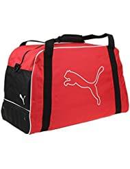 Puma United Football Soccer Team Bag sports bag 65 liter, Farben:Rouge
