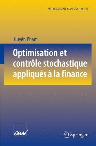 Optimisation et contrôle stochastique appliqués à la finance par Huyên Pham