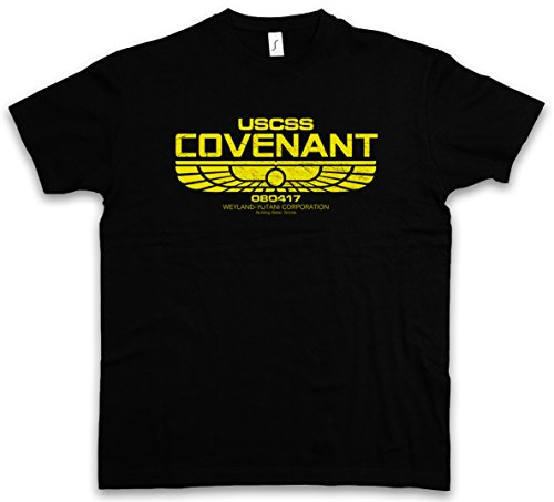 Urban Backwoods USCSS Covenant T-Shirt – Taglie S – 5XL Nero