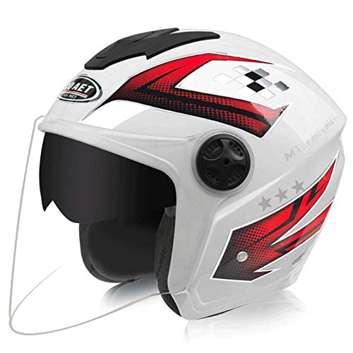 AXDNH Casco de Motocicleta de Cara Completa