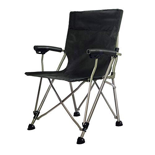 HUACANG Grande Chaise Pliante D'extérieur Pique-Nique La Pêche Voyage Et Loisirs Chaise Portable Simple avec Accoudoirs Orange Bleu Vert Foncé (Couleur : Dark Green)