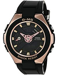 Casio Baby-g Analog-Digital Black Dial Women's Watch - MSG-400G-1A1DR (BX108)
