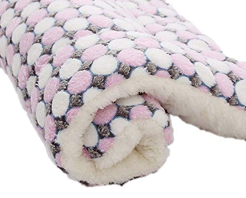 CHUNXU Morbida Flanella Pet Mat Dog Bed Ispessita Calda Coperta Cane Gatto Cucciolo Dormire Copertura Asciugamano Cuscino per Cani di Taglia Piccola, Media e Grande