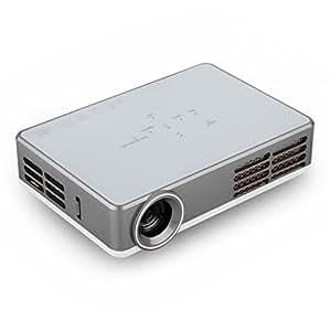 Excelvan Vidéoprojecteur Full HD 3D DLP Mini Projecteur Vidéo Android 4.4 wifi Home Theater 1280 * 800