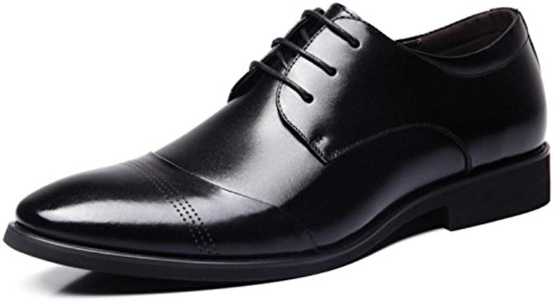 Hombres Informal Primavera Negocios Zapatos De Vestir Zapatos Puntiagudos Zapatos con Cordones -