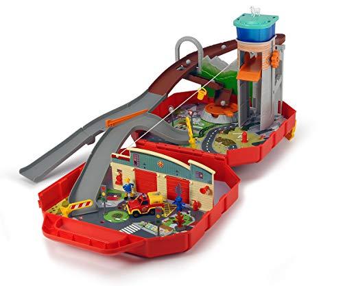 feuerwehrstation dickie Dickie Toys 203095002 Ponty Pandy Feuerwehrmann Sam Koffer-Spielset, bunt