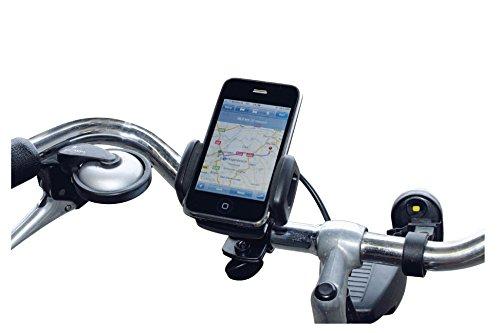 Eurosell Fahrradhalterung Fahrrad Rad Halter Halterung Lenker Ständer für Smartphone iPhone Navi
