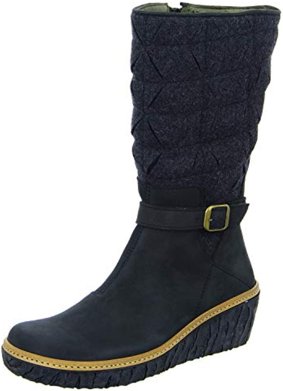 N5138 Pleasant-Premium Wool nero Myth Yggdrasil Nero Donna Stivale A A A Zip | Materiale preferito  | Gentiluomo/Signora Scarpa  969550