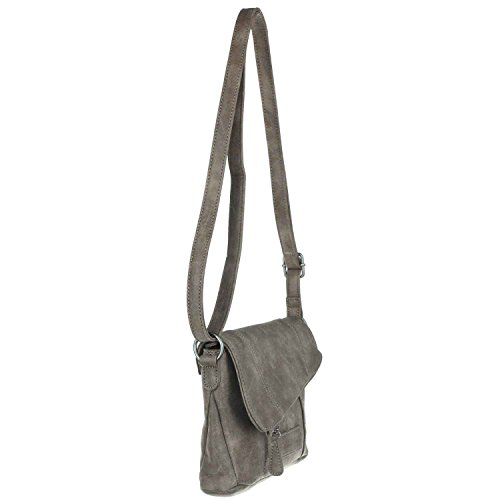 Fritzi aus Preußen Izarra Vintage Borsa a tracolla 23 cm basalt