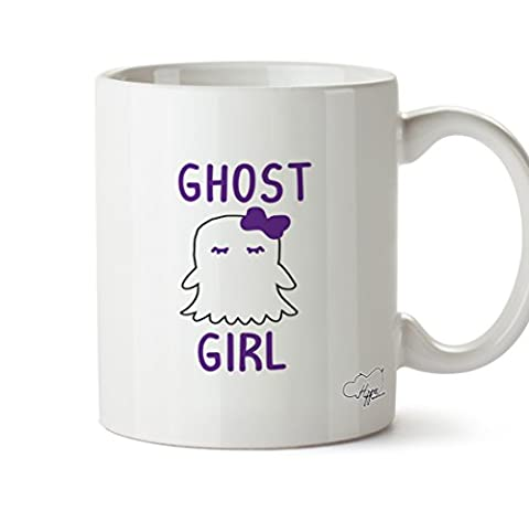 M. Costume Toad - Hippowarehouse Ghost Girl 283,5gram Mug Cup, Céramique,