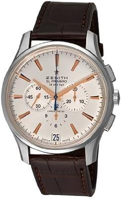 Zenith 03.2110.400_01.C498 reloj mecánico automático para hombre