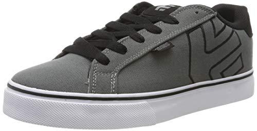 Etnies Herren Fader Vulc Skateboardschuhe, Grau (Dark Grey/Black 022), 38 EU -